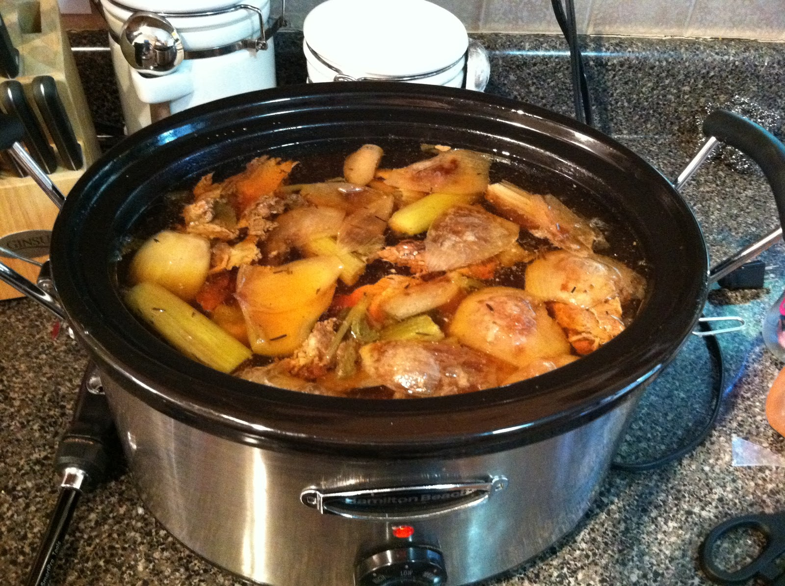 Image result for crockpot bone broth