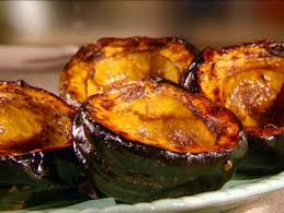 Cinnamon Maple Roasted Acorn Squash